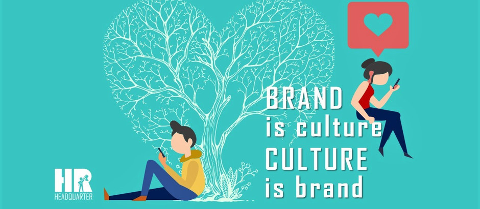 Brand is originated and cultivated internally