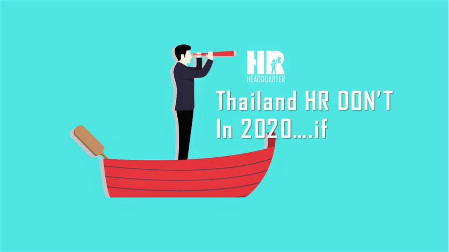 Thailand HR DOs vs. DON'Ts :in 2020