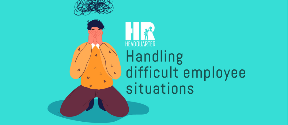 Handling difficult employee situation