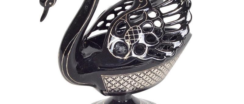 Bidriware Silver Inlay Swan