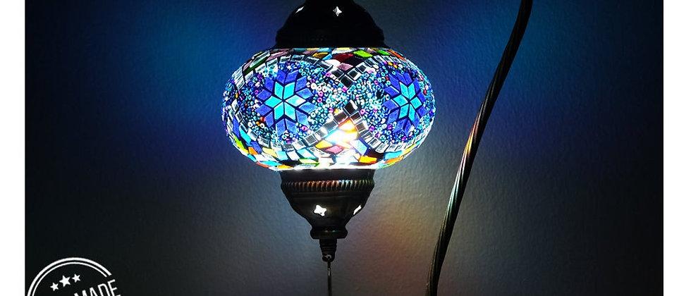 Turkish Lamp, Turkish Desk Lamp, Mosaic Lamps - Turkish Desk Lamp with a Big
