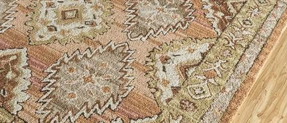 Rajasthani hand tufted | Tribal carpet