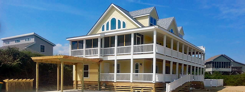 North Carolina NC Outer Banks Modular Home Builder, North Carolina OBX Sound & Shore Builders, Inc. Huntington II