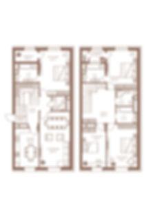 12. Тип 5 комн. 2-Х УРОВНЕВАЯ-191,9 КВАД