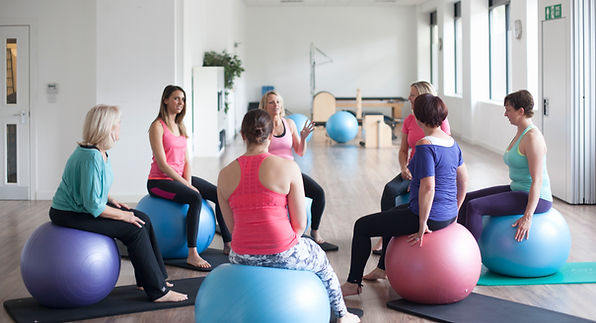 Women at a Sports Facility working out together. Exercise: Getting Started