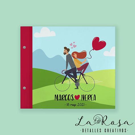 libro de firmas tornillos bicicleta copi