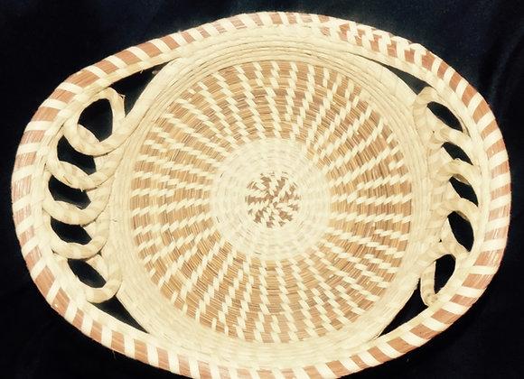 Five Ringed Round Bread Basket