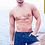 Thumbnail: Print swim shorts marble