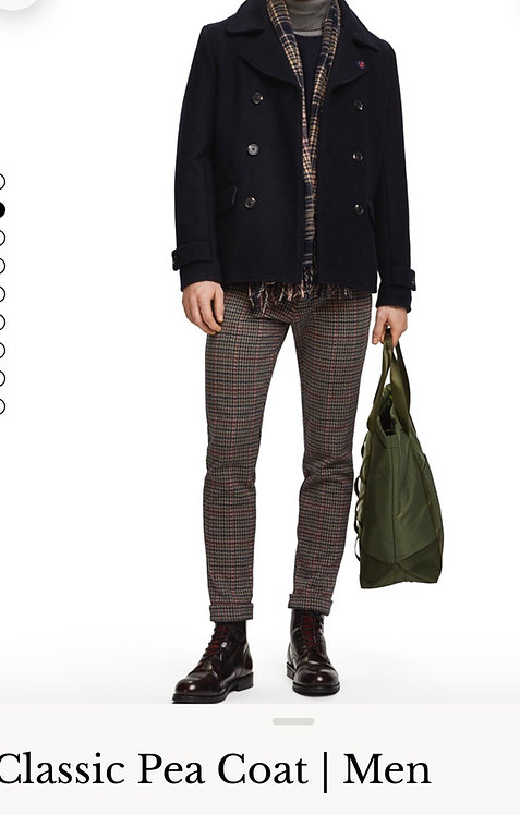Peacock coat Scotch & soda