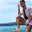 Thumbnail: White Multi function shorts