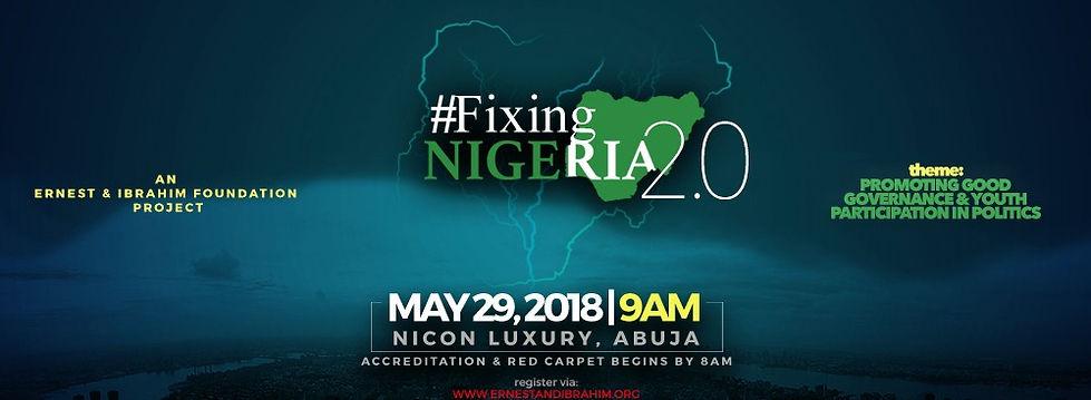 #FixingNigeria 2.0 | Ernest and Ibrahim Foundation