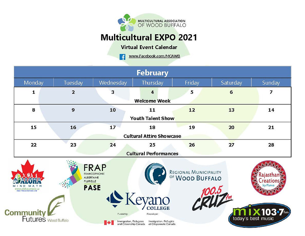 EXPO Schedule of Events - Overview (Fina