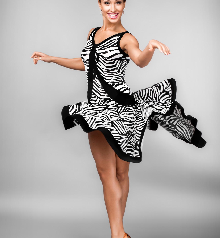 Taneční šaty 755.2