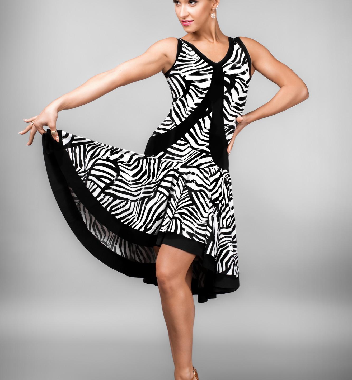 Taneční šaty LAT 755