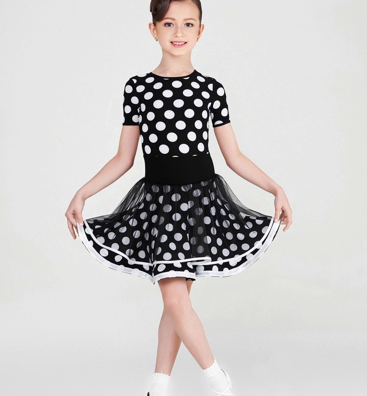 Dětské taneční šaty 817.1