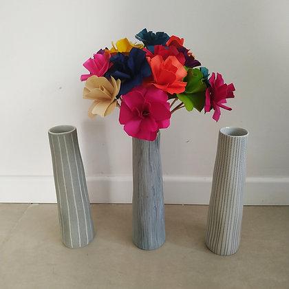 אגרטל וזר פרחים