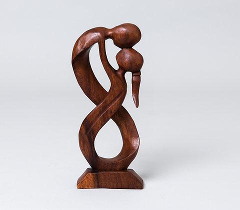 פסל עץ חנות JAVA כיכר רבין