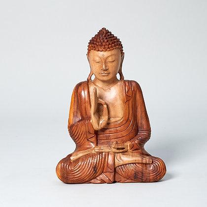בודהה מעץ טיבעי
