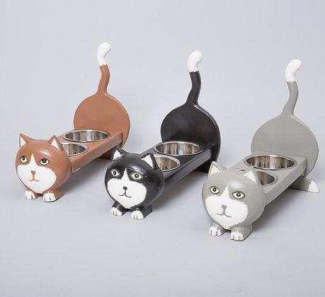 מתקן לאוכל חתול