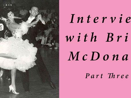 Interview with Brian McDonald Part Three