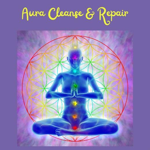 Aura Cleanse & Repair (In-Person)
