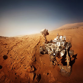 Mars rover. Elements of this image furni