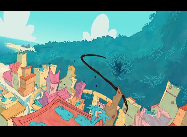 Animated shot