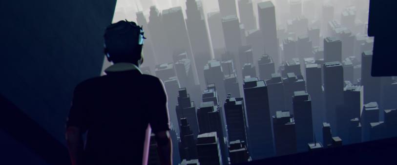 Final render - Town