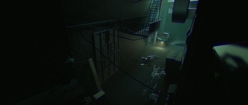 Final render - Alleyway
