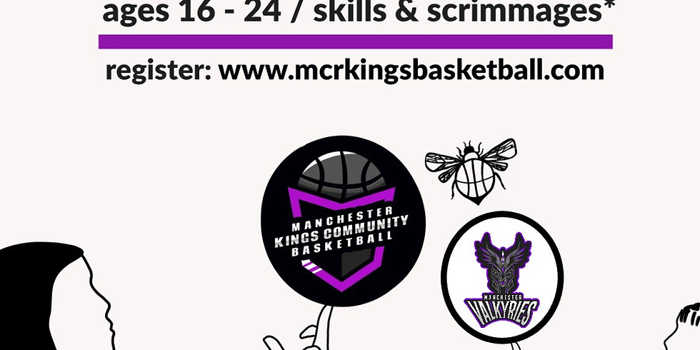 Valkyries Women ONLY Basketball for Beginners