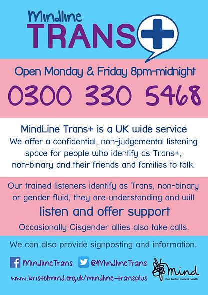 CURRENT A4 Mindline Trans+ flyer  Update
