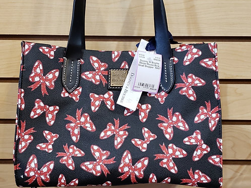 Dooney & Bourke Minnie Mouse Bow Small Shopper  NWT