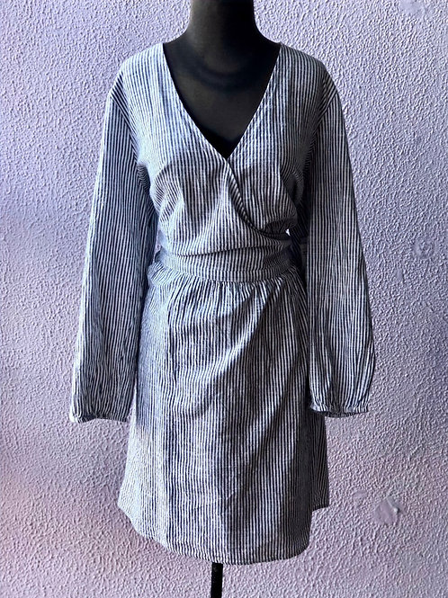 Old Navy Long Sleeve Wrap Dress XXL