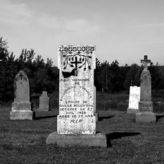 Philomene Cormier Grave, Hand with Cross