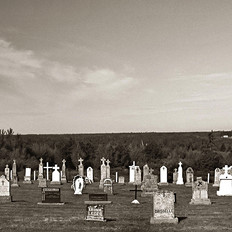 Graveyard View of Haute Aboujagane Cemetery