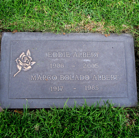 Eddie Albert Grave