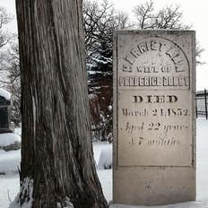 Harriet Ann Doney Headstone