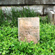 Residents of Eventide Old Ladies Home