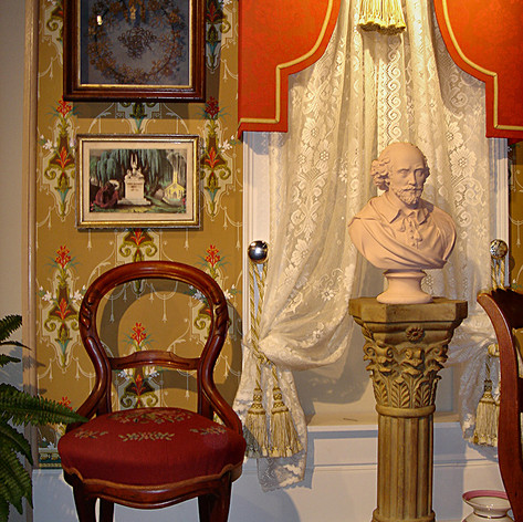 Bust and Chair
