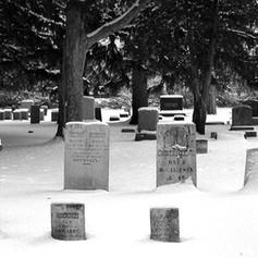 Brownley Headstones in Winter
