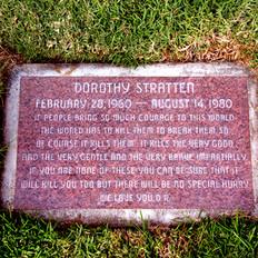 Dorothy Stratten Grave
