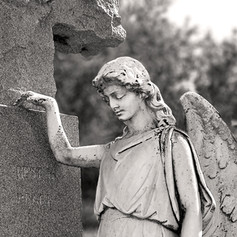 Angel at the Sayer Monument