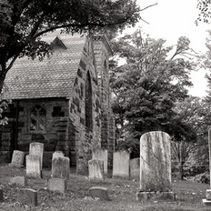 Headstones at South Highland Church