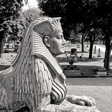 Sphinxs Voshardt Mausoleum