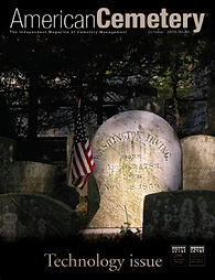 American Cemetery Magazine Cover Art