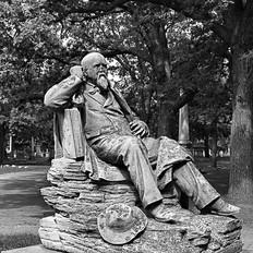 Seated Self Portrait, Leonard Wells Volk
