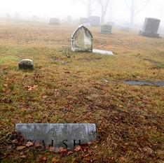 Sunken Headstone. Walsh