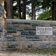 Sleepy Hollow Cemetery Front Gate