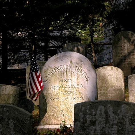 Washington Irving Grave