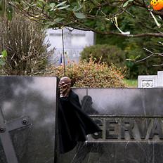 Halloween at Sleepy Hollow Cemetery